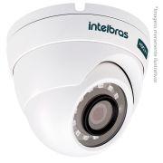 Câmera Dome Infravermelho Multi HD 4 em 1 Intelbras VHD 3120D G3 HD 720p - HDCVI, HDTVI, AHD, ANALÓGICO