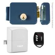 Kit Fechadura Elétrica Intelbras Com Abertura Por Controle Remoto