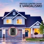 ID Tray Protetor Anti Vandalismo para Interfone e Vídeo Porteiro Intelbras IV 4010 / IV 7010 - Preto