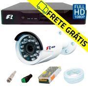 Kit Câmeras de Segurança Full HD 1080p  Focusbras FS-MDF2M + DVR Focusbras Full HD + Acessórios