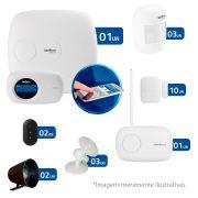 Kit de Alarme Intelbras 13 Sensores AMT 2018E com AMT Mobile