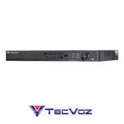 DVR NVR Stand Alone Híbrido Tecvoz THK-SH08 8 Canais