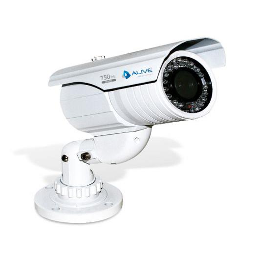 Câmera Bullet Infravermelho Alive AL-CIR 740-D 750 Linhas 2,8-12,0mm