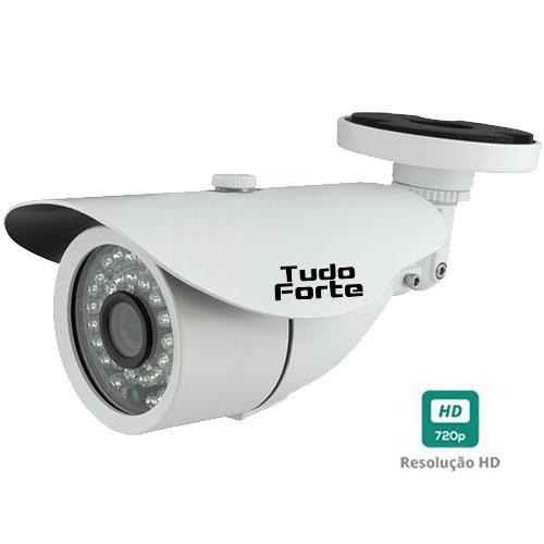 Câmera Bullet Infravermelho AHD M Tudo Forte HD 720p 1.0M 3,6mm 36 Leds IP 66 IR 30 metros
