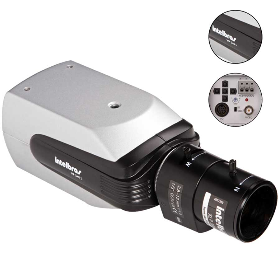 Câmera Bullet Profissional Intelbras VP 540 S  540 linhas