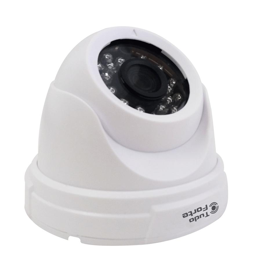 Câmera Dome AHD M Tudo Forte AHD2005 HD 720p 1.0M 3,6mm Interna
