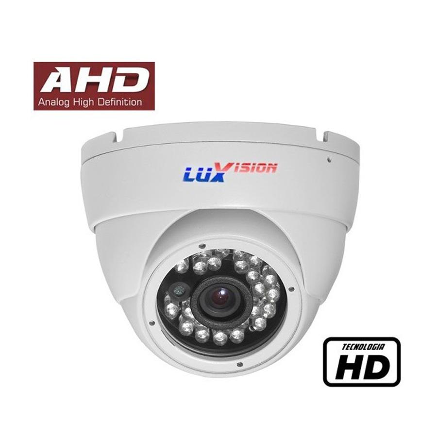 Câmera Dome Infravermelho AHD Luxvision LVC5110D HD 720p 2,8mm