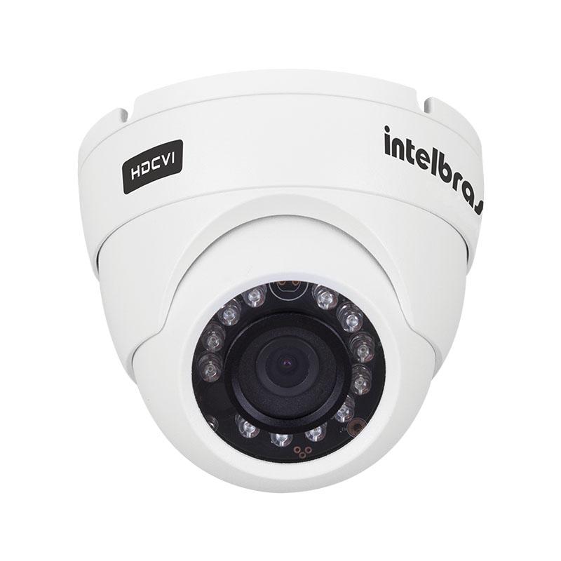 Câmera Dome Infravermelho HDCVI Intelbras VHD 5020 D Full HD 1080p 3,6mm