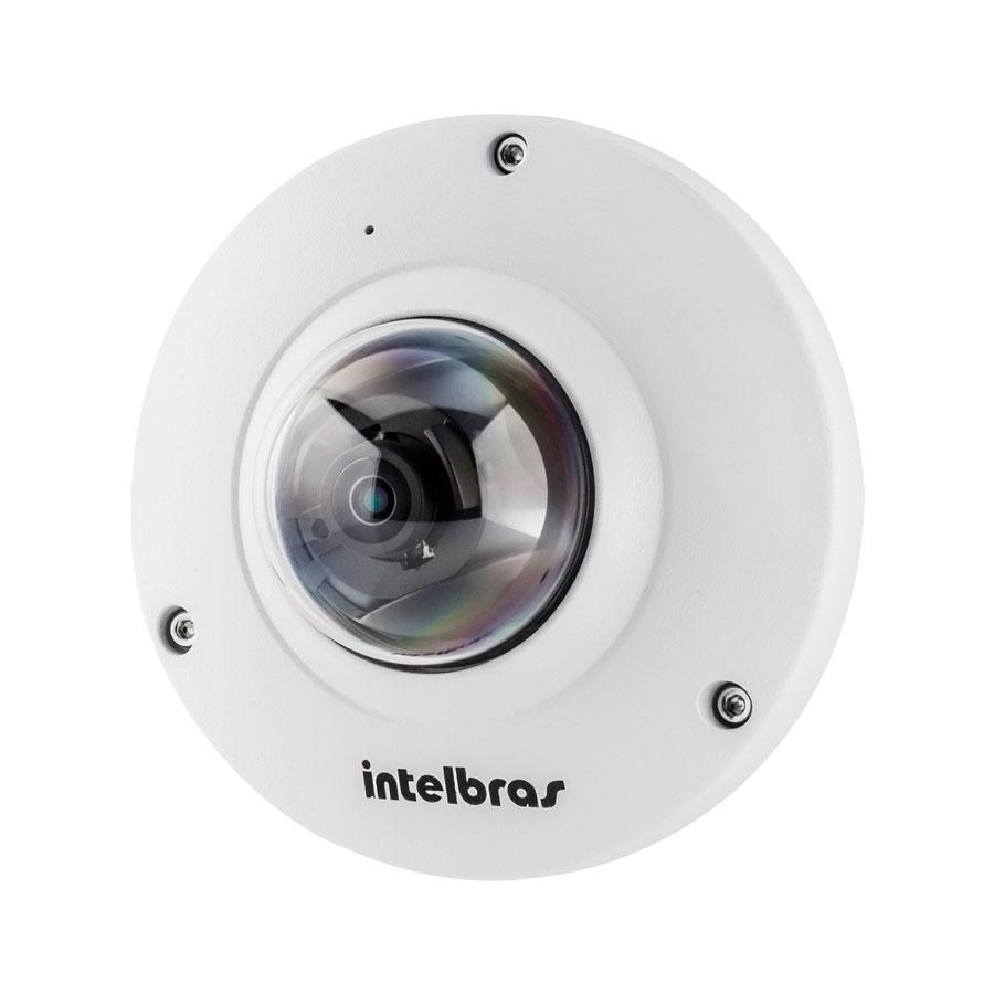 Câmera IP 360 Graus Intelbras Fisheye VIP E6400 4.0 Megapixels