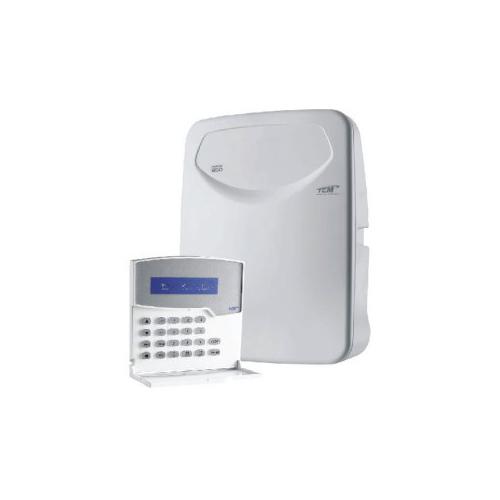 Central de Alarme 10 Setores Monitorado TEM HERON-850, Discadora de Linha Embutida - Compatível com Paradox e Posonic
