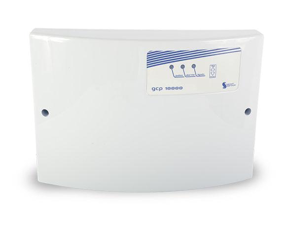 Central de Cerca Elétrica GCP 10000, Com certificação de Segurança INMETRO, Carregador-Flutuador de bateria incorporado, Saida para Alarme