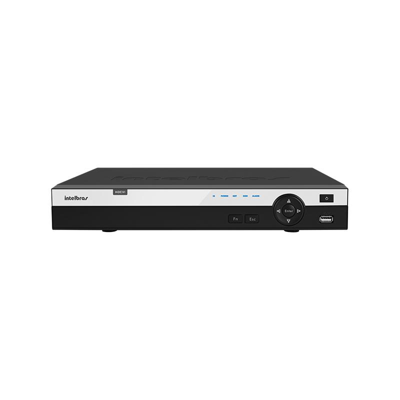 DVR Stand Alone Tríbrido HDCVI Intelbras HDCVI 3108 8 Canais 1080p