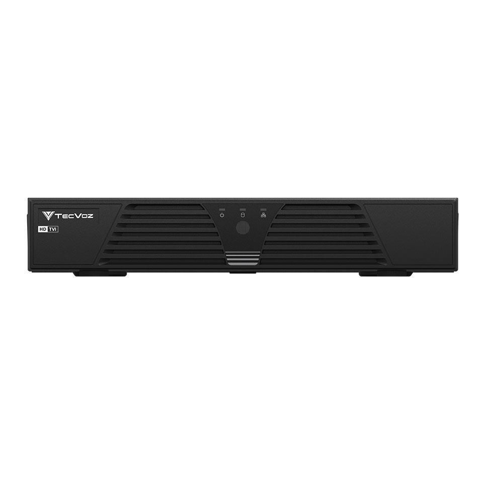DVR Stand Alone Tríbrido Tecvoz HDTVI T1-LTVI16 + HD 2TB WD Purple de CFTV