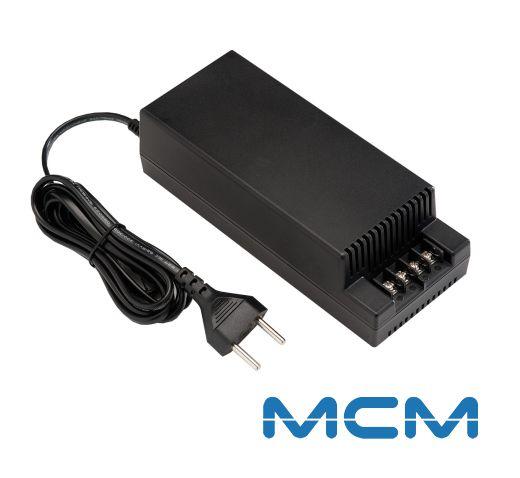 Fonte Estabilizada 12V 5A MCM, Compacta, Ideal para câmeras de segurança