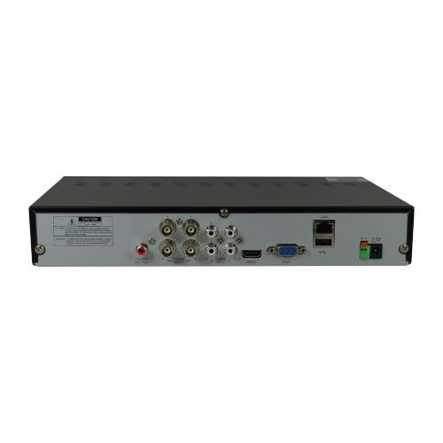 DVR Stand Alone Híbrido AHD-H Tecnologia ECD 4 Canais Full HD 1080p High Definition - Luxvision