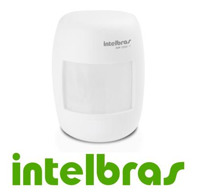 Sensor Infravermelho Passivo sem Fio Intelbras IVP 2000 SF, Frequência de Operação de 433,92 MHZ, 2 níveis de sensibilidade, Microcontrolado, Relé em estado Sólido