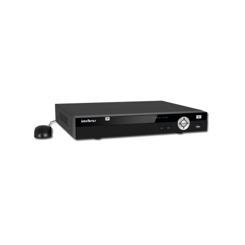 NVR, HVR Stand Alone Intelbras NVD 1008 P 8 Canais, com 4 portas PoE, para Camera IP