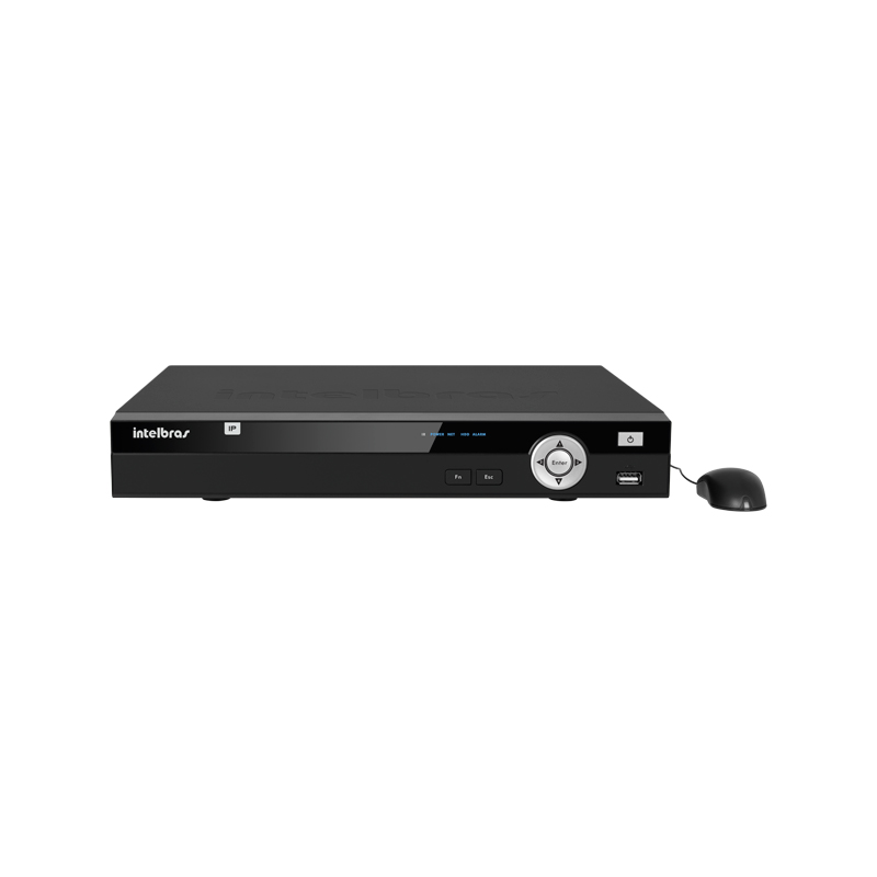NVR Stand Alone Intelbras NVD 1008 8 Canais IP