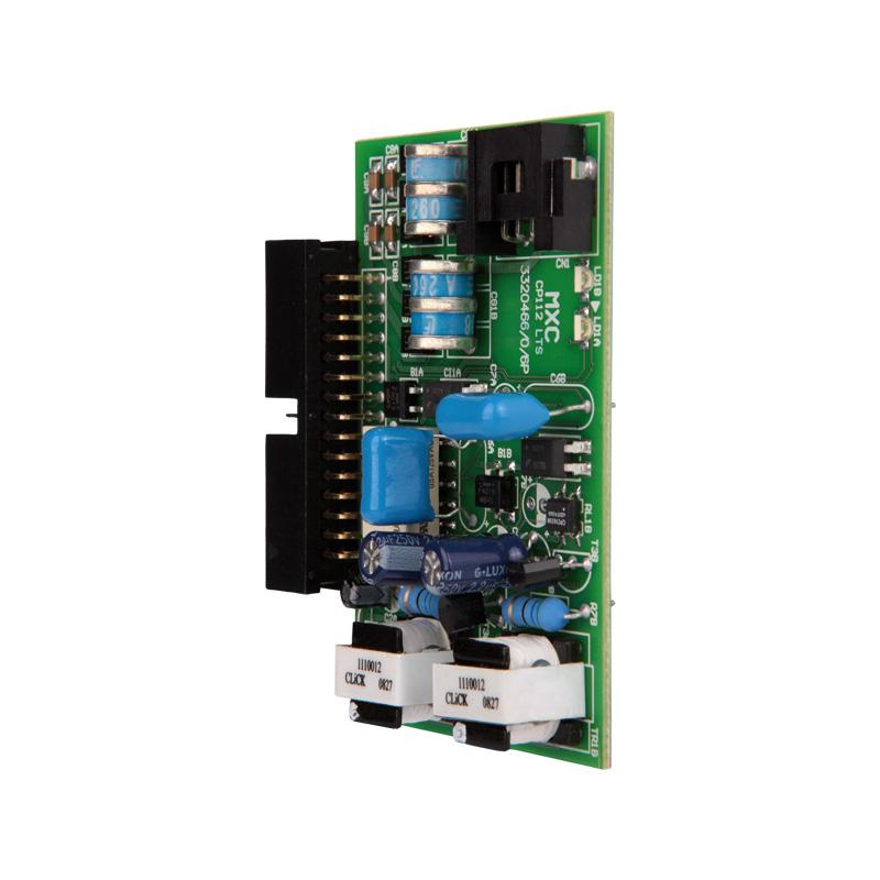 Placa de serviço com 2 Linhas Telefôncias Compatível com Central CP 48 e CP 112 Intelbras