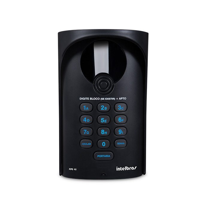 Porteiro eletrônico Intelbras XPE 48 exclusivo para central de portaria Comunic 48