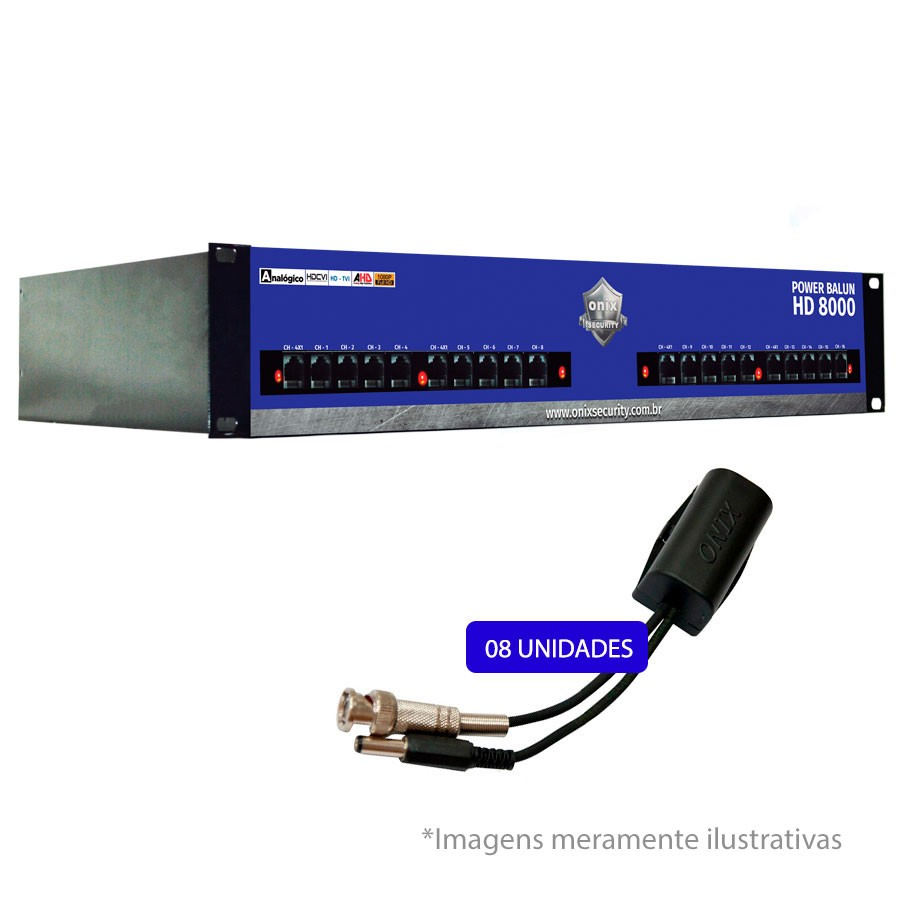 Rack Orion Power Balun HD 8000 19