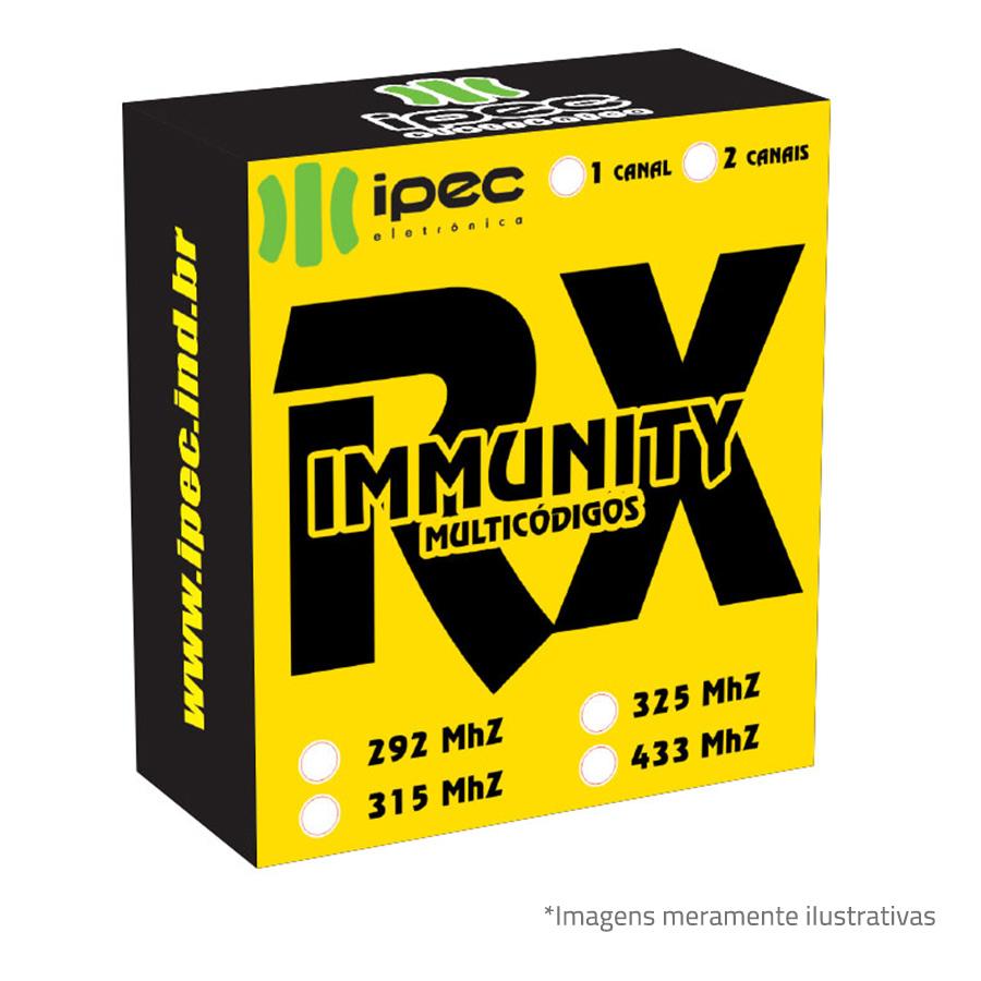 Receptor RX Immunity Ipec 2 canais - Duplo Immunity Multicode