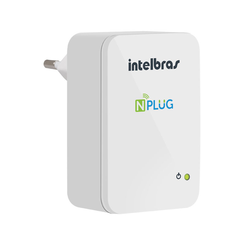 Repetidor+ Router WIFI Intelbras NPLUG