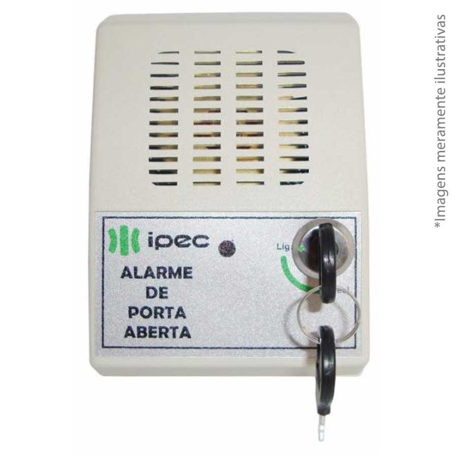 Sensor de Alarme Porta Aberta Ipec