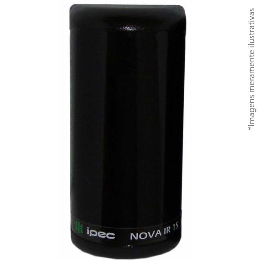 Sensor Barreira Ativa Perimetral Feixe Simples Ipec IVA IR15 Digital