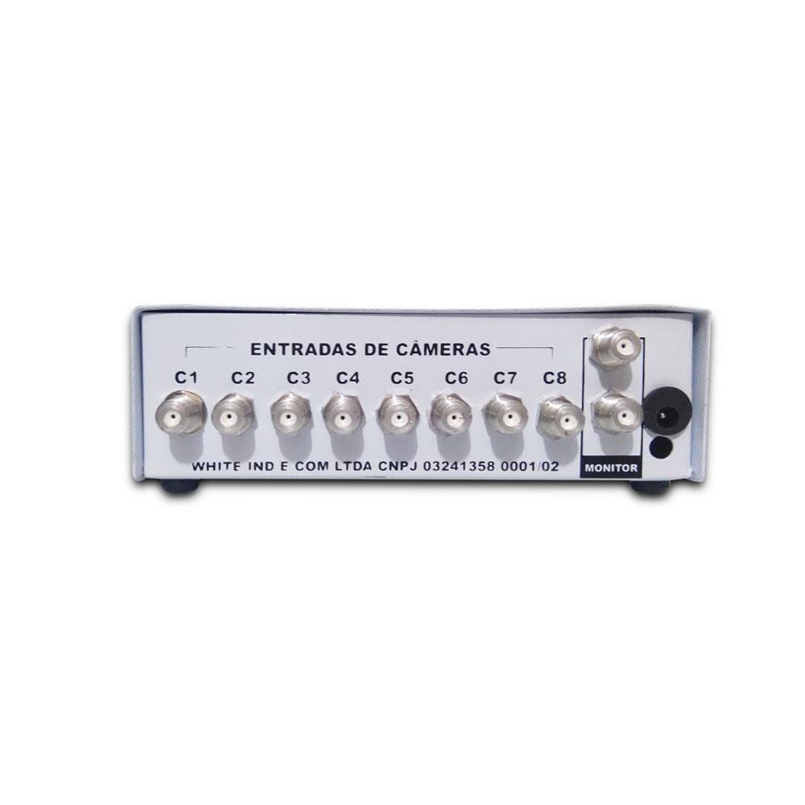 Sequencial de Video White 8X2 Com Display