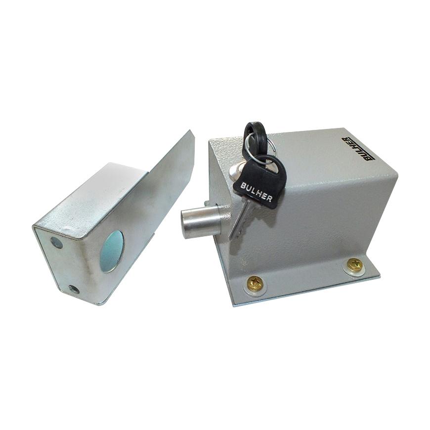 Trava Elétrica 127V Bulher Para Portão Basculantes E Deslizantes