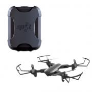 Combo Rastreador Spot Trace  + Drone Shark Multilaser com Câmera HD WIFI