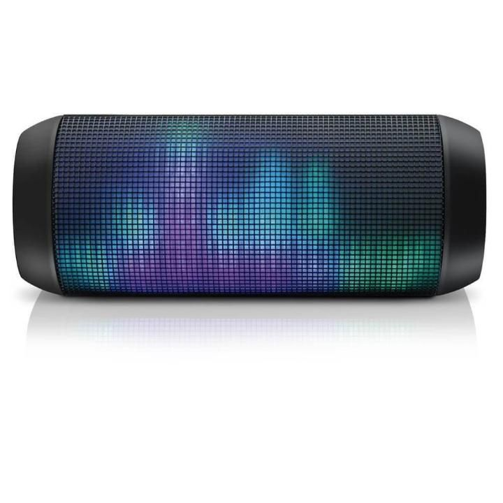 Caixa de Som Multilaser Bluetooth Led Light 15 Watts RMS P2, USB e SD - SP192