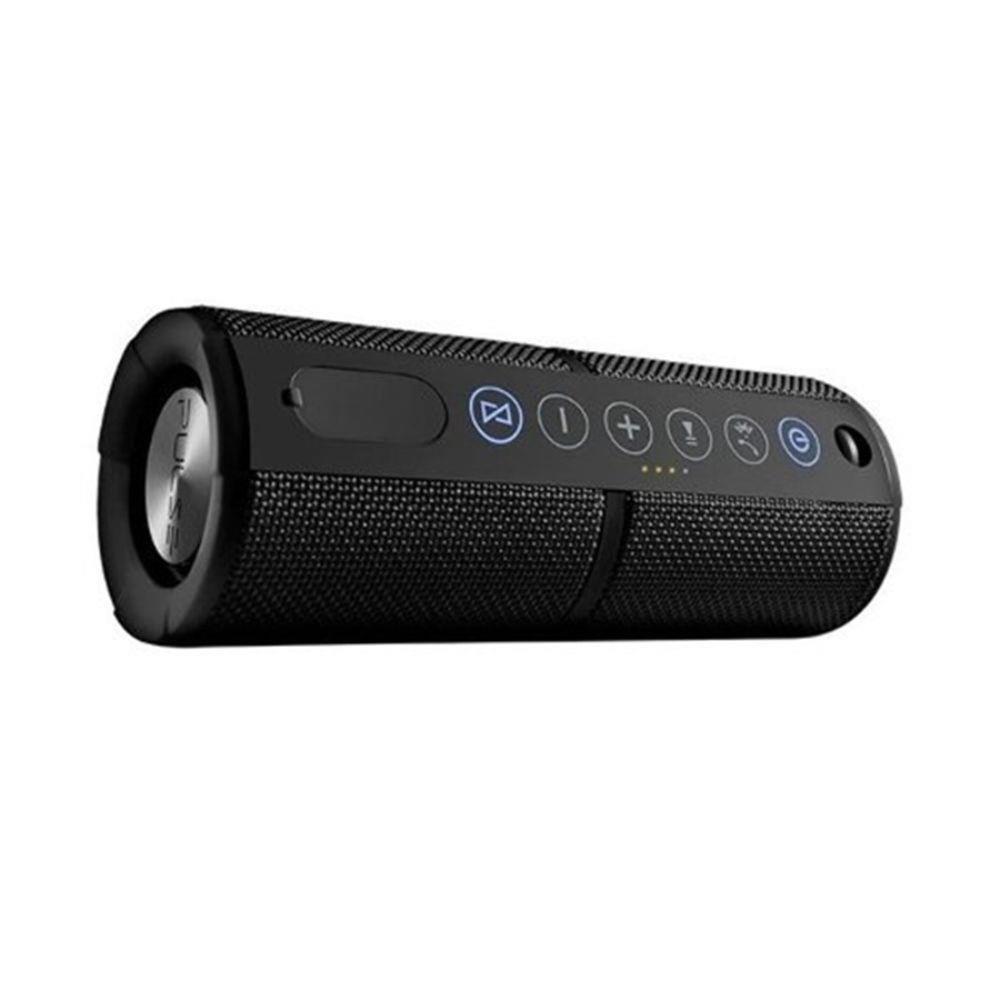 Caixa de Som Portátil Pulse Speaker SP245 Waterproof Bluetooth 15W Preto