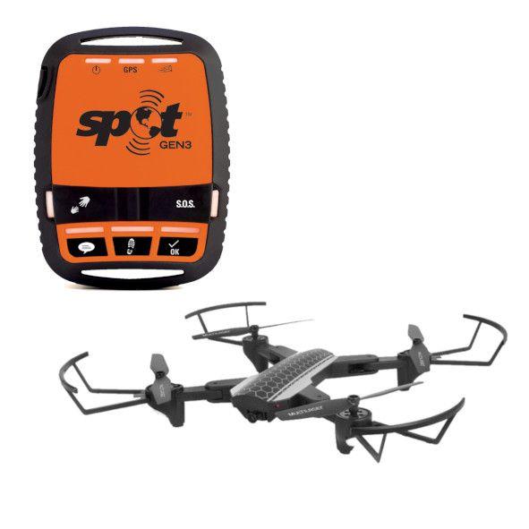 Combo Gen Rastreador Pessoal + Drone Shark Multilaser com Câmera HD WIFI