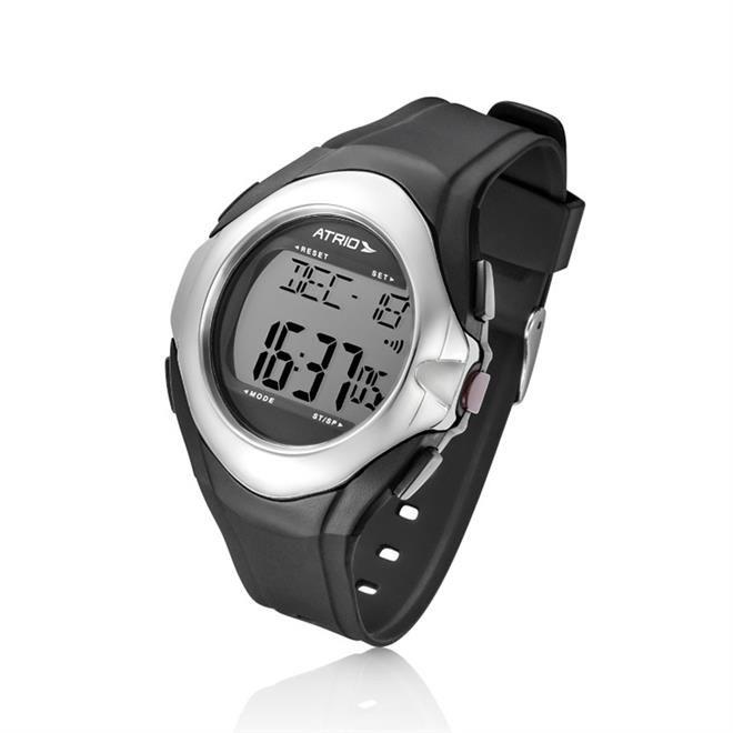Relógio Esportivo Touch Monitor Cardíaco Preto E Cinza Es094 Átrio