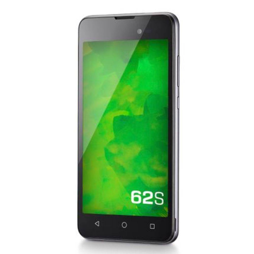 "Smartphone Mirage 62S 3g Quad Core 1GB RAM Dual Câmera 2mp+8mp Tela 5"" Dual Chip Android 7 Cinza"