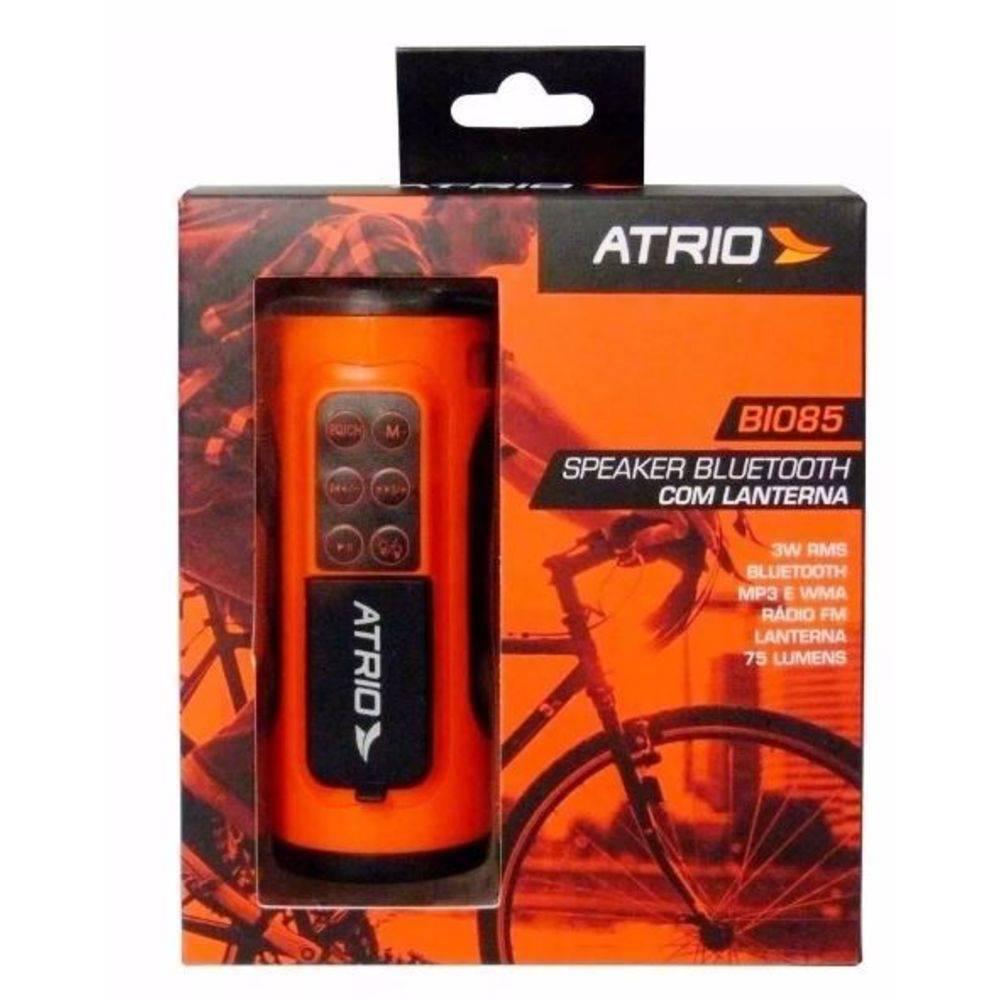 Speaker Bluetooth Com Lanterna Bi085 - Atrio