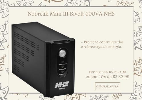 Nobreak Mini III Bivolt 600VA 90.A0.006100 NHS