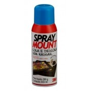 Adesivo 3M spray reposicionavel mount scotch lt 290g com GLP ref.62466248275 01542