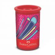 Apontador C/ Depósito Substituível It Girl Faber-Castell - PORT - Informática - Escritório - Papelaria