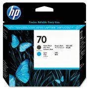 Cabeça de Impressão HP 70 C9404A Preto e Ciano