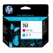 Cabeça de Impressão HP 761 CH646A Magenta e Ciano
