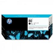 Cabeça de Impressão HP 80 C4820A Preto