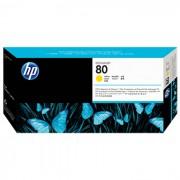 Cabeça de Impressão HP 80 C4823A Amarelo - PORT - Informática - Escritório - Papelaria