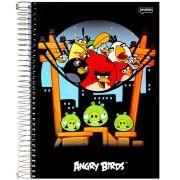 Caderno Angry Birds Capa Dura Universitário 10x1 200 Fls. 54631 Jandaia