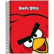 Caderno Angry Birds Capa Dura Universitário 1x1 96 Fls. 54630 Jandaia