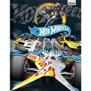 Caderno Brochura Capa Dura Costura Universitário Hot Wheels 96 Fls. 4022989 Foroni