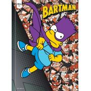 Caderno Brochura Capa Dura Costura Universitário Simpsons 96 Fls. 140384 Tilibra