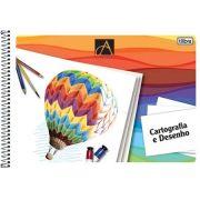 Caderno Espiral Cartografia/Desenho Com Seda 48 Fls 110469 Tilibra